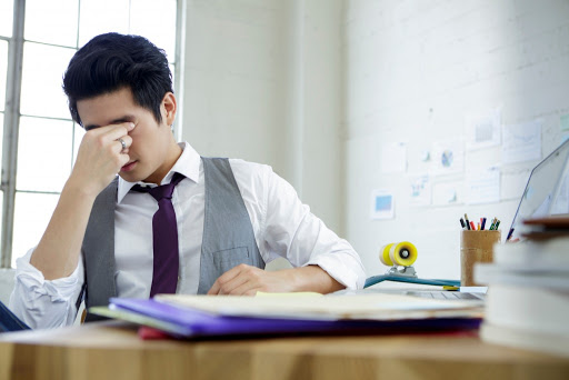 Whats office syndrome ?